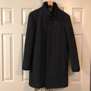 ZARA man denim couture peacoat - size 38 / Medium